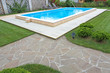Swimming pool in the yard of a private home. - 80590411