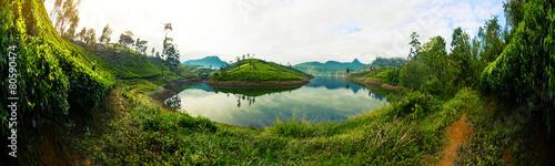 Foto op Canvas Rivier Sri Lanka