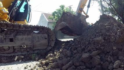 Heavy Excavation Equipment