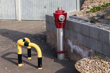 Hydrant- Überfluthydrant