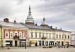 Marketplace in Nowy Sacz. Poland - 80592645