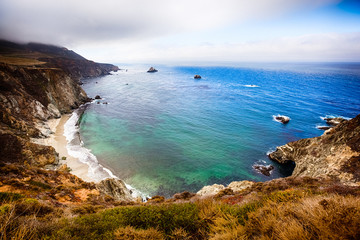 Big Sur, Beautiful Beach in California