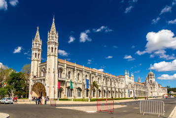 Maritime Museum and Jeronimos Monastery in Lisbon - Portugal