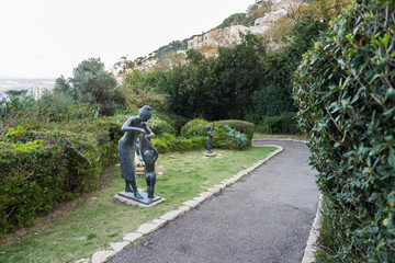 Sculptures Garden in Haifa