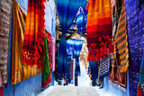 Colorful moroccan fabrics
