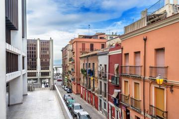 Sardegna, Cagliari, quartiere Marina, via Lepanto