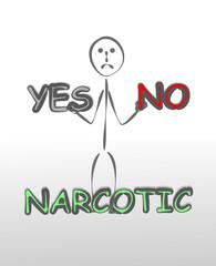 uyuşturucuya hayır