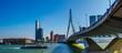 Leinwandbild Motiv Rotterdam Erasmus