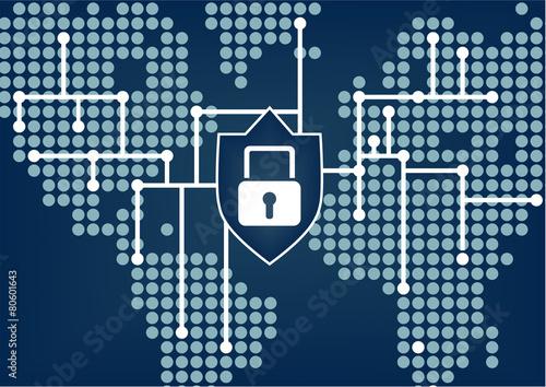 Bezpieczeństwo IT dla organizacji globalnej, aby zapobiec naruszeniom sieci