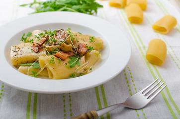 Italian rigatoni