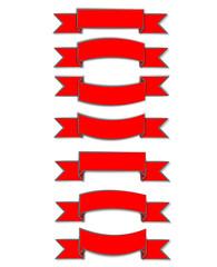 kırmızı kurdele tasarımı