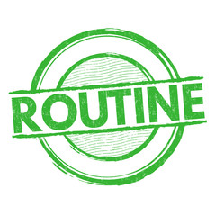 Routine stamp
