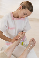 Massage Pieds Senior