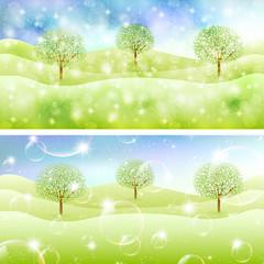 草原 風景 背景