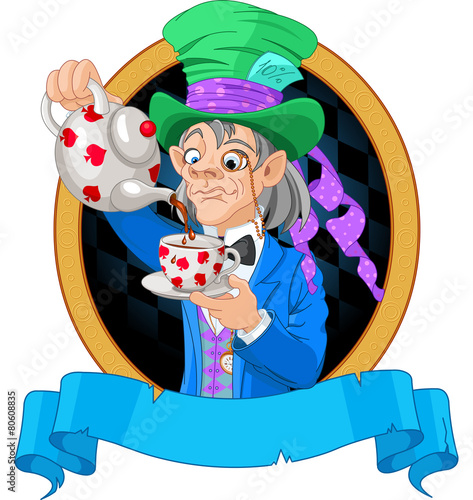 Mad Hatter design - 80608835