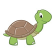 Cartoon Turtle - 80609272