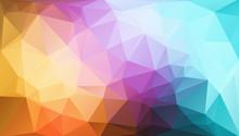 "Постер, картина, фотообои ""Polygon Panorama"""