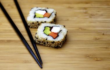 Brown Rice Sushi Wrap