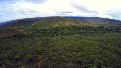 Aerial View from Chapada dos Viadeiros in Goias, Brazil