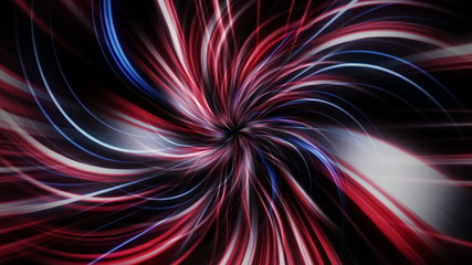 Abstract Lines Tunnel Background