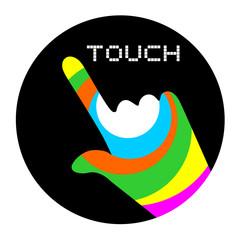 art touch button