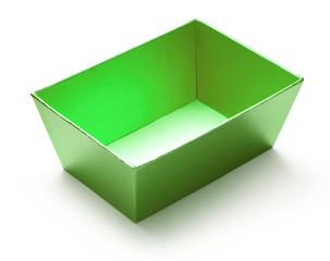 Empty green box