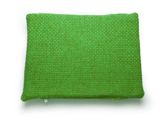 Soft blank green pillow