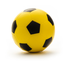 Yellow and black football