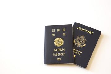 US and Japanese Passport