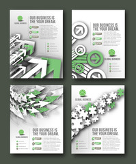 Corporate Business Flyer & Poster Template Bundel