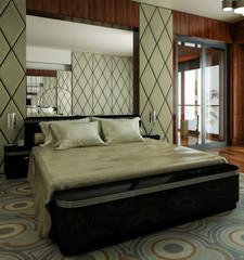 Classical Bedroom (focus)