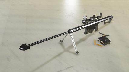 M107 Barett Sniper Rifle