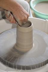 modelage d'une  poterie 4