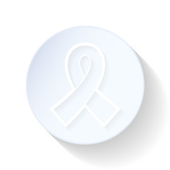 AIDS thin lines icon