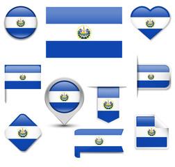 El Salvador Flag Collection