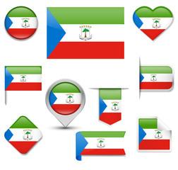 Equatorial Guinea Flag Collection