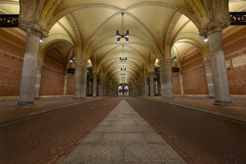 Bicycle tunnel under the rijksmuseum
