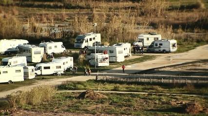 Caravanas de vacaciones