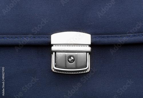 Leinwanddruck Bild Briefcase clip