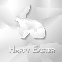 Osterhase Hase Papier Happy Easter Frohe Oster