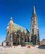 Leinwanddruck Bild - Stephansdom (St. Stephen's Cathedral), Vienna, Austria