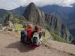 Couple admiring Machu Picchu - 80629041