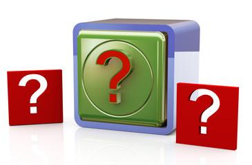 Question mark box