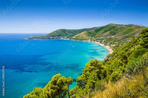 Fotobehang Kust Cilentan Coast, Salerno, Campania, Italy