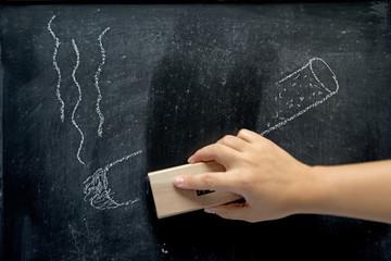 quit smoking on blackboard