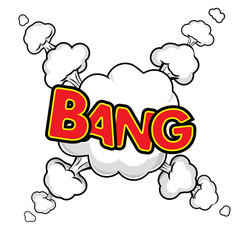 bang  abstract background