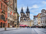 Prague, Czech Republic, Central Europe, 26.12.2014. The view ove
