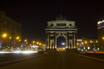Triumphal arch, Russia, Moscow