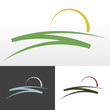 sunrise symbol design - 80632872
