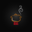 saucepan ornament background - 80633243